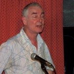 Michael Burns at Lymm Folk Club, Vin Garbutt Concert